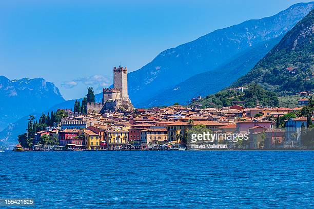 Malcesine on Lake Garda, Italy