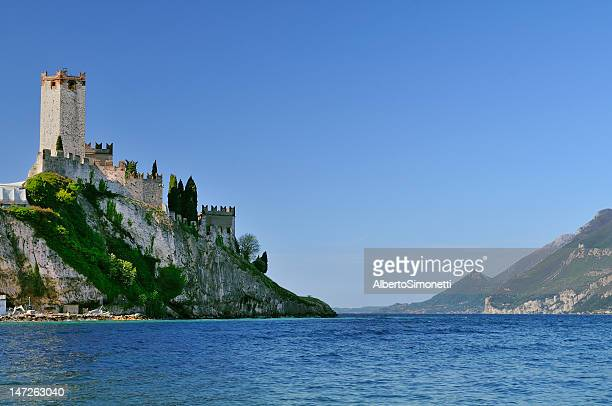 malcesine (garda lake - italy) - malcesine stock pictures, royalty-free photos & images