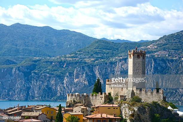 malcesine - malcesine stock pictures, royalty-free photos & images