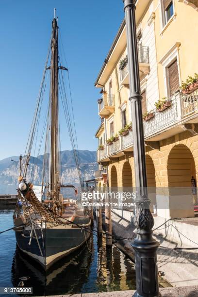 malcesine, veneto, italy, europe - malcesine stock pictures, royalty-free photos & images