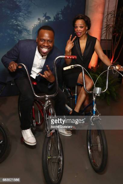 Malcolm Barrett attends the Entertainment Weekly and PEOPLE Upfronts party presented by Netflix and Terra Chips at Second Floor on May 15 2017 in New...