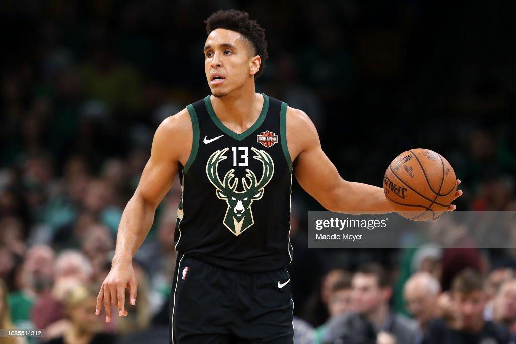 Milwaukee Bucks v Boston Celtics : Foto jornalística