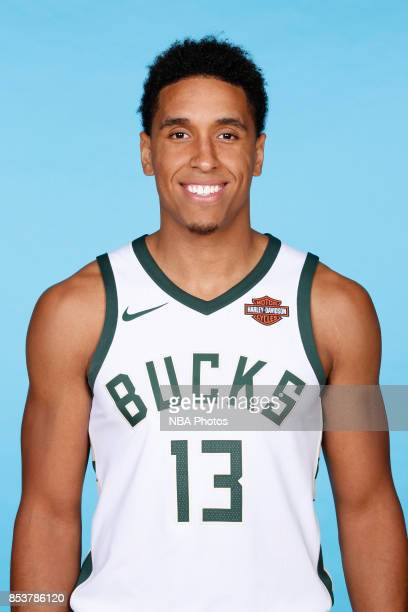 Malcolm Brogdon of the Milwaukee Bucks poses for a head shot during media day on September 25 2017 at the Froedtert and Medical College of Wisconsin...