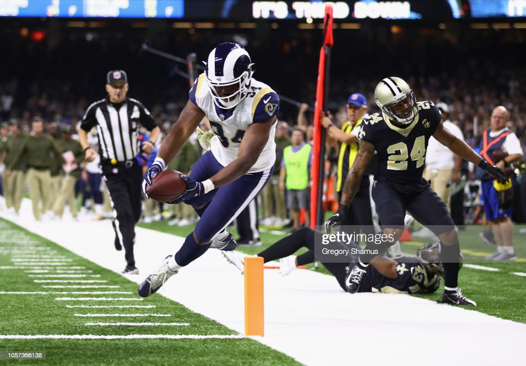 Los Angeles Rams v New Orleans Saints : News Photo