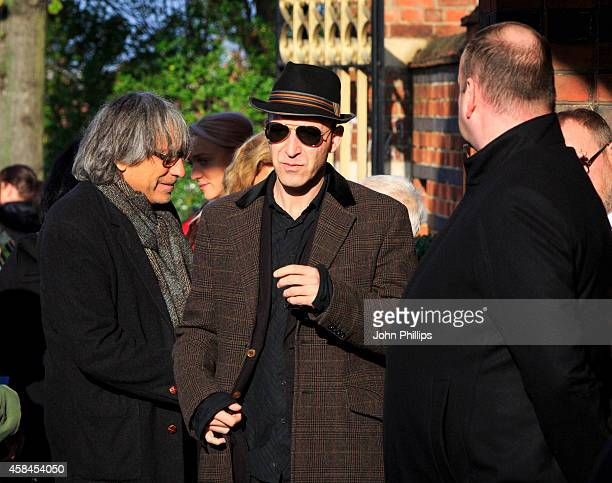 Malcolm Bruce attends the funeral of Jack Bruce at Golders Green Crematorium on November 5 2014 in London England