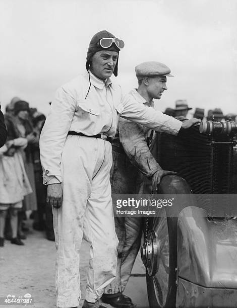 Malcolm Campbell, . Campbell was the holder of both land and water speed records from 1927 onwards. In 1935 he became the first man to break 300 mph...