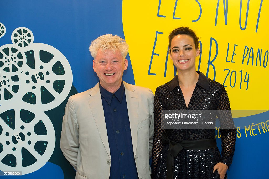 Malcolm Clarke and Berenice Bejo attend the 'Panorama des Nuits en or' gala dinner at UNESCO on June 16, 2014 in Paris, France.
