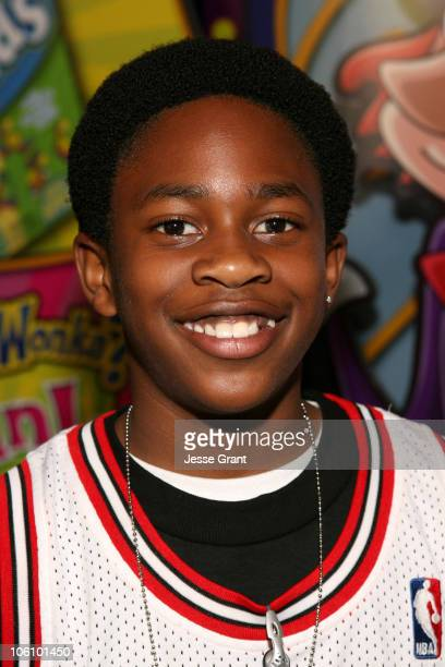 Malcolm David Kelley during 1027's KISS FM's Wango Tango 2006 Gift Lounge at Verizon Wireless Amphitheater in Irvine California United States