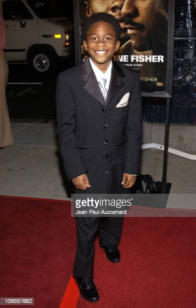 Malcolm David Kelly during 'Antwone Fisher' Premiere Beverly Hills at Academy of Motion Picture Arts Sciences in Beverly Hills California United...