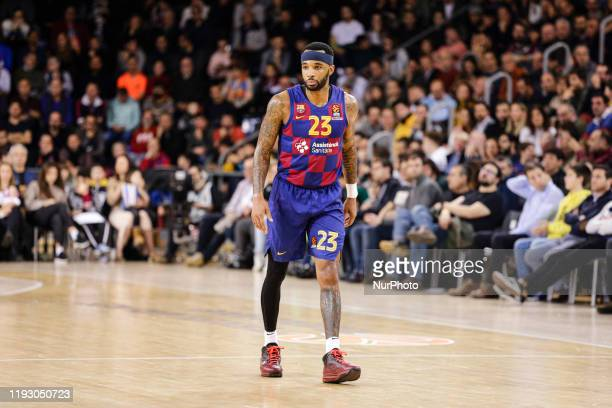 23 Malcolm Delaney from United States of America of FC Barcelona during the Turkish Airlines EuroLeague Basketball match between FC Barcelona and...