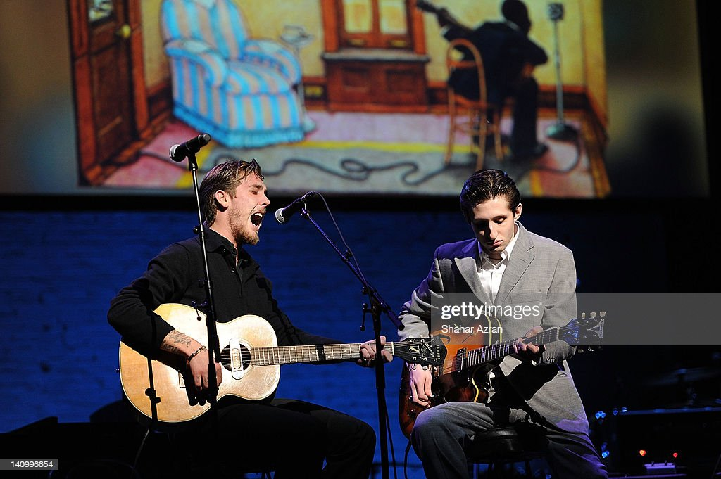Jack Byrne Ford >> Malcolm Ford And Jack Byrne Of The Dough Rollers Perform During The