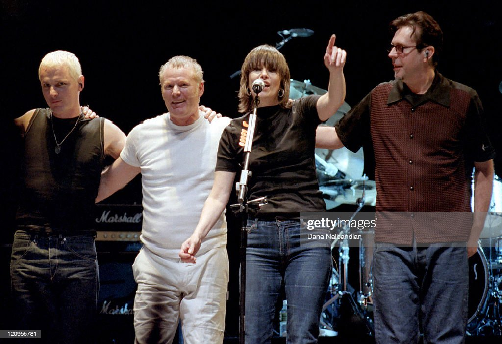 The Pretenders perform at the Gorge in George - September 9, 2000