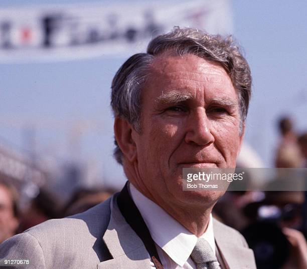 Malcolm Fraser Prime Minister of Australia at the Commonwealth Games held in Brisbane Australia September 1982