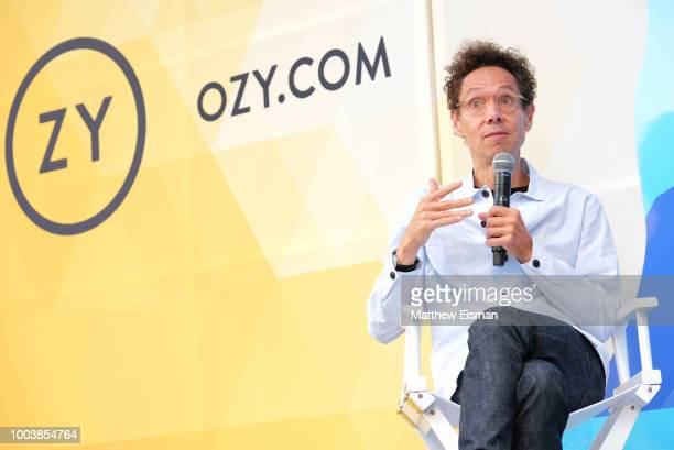 Malcolm Gladwell speaks onstage during OZY Fest 2018 at Rumsey Playfield Central Park on July 22 2018 in New York City