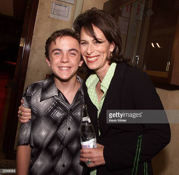 Malcolm in the Middle's Frankie Muniz and Jane Kazmarek at the 53rd Annual Primetime Emmy Awards Performing Nominees Reception at the Sunset Room in...