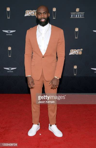 Malcolm Jenkins attends the 9th Annual NFL Honors at Adrienne Arsht Center on February 01 2020 in Miami Florida