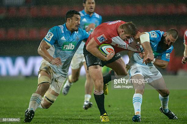 Malcolm Marx of the Lions during the Super Rugby match between Emirates Lions and Blues at Emirates Airline Park on May 14 2016 in Johannesburg South...