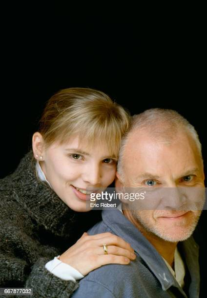 Malcolm McDowell and Girlfriend Kelley Kuhr