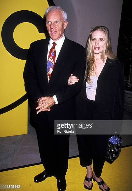 Malcolm McDowell and Kelley Kuhr during ABC Summer TCA Press Tour at Ritz-Carlton Hotel in Pasadena, California, United States.