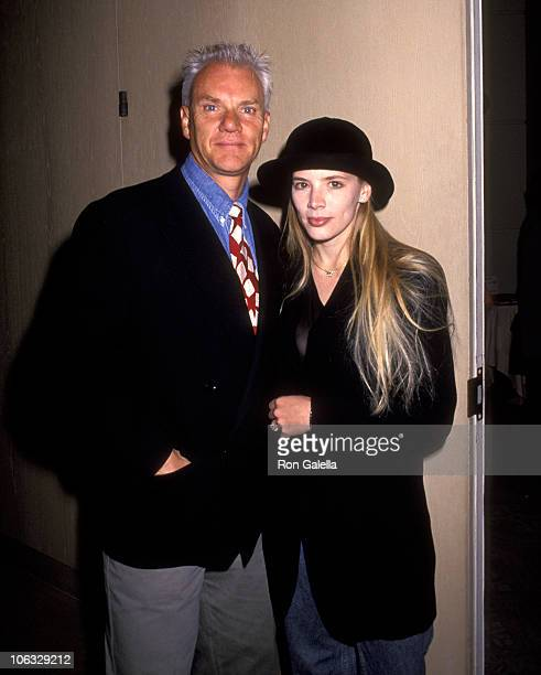 Malcolm McDowell and Kelley Kuhr during L.I.F.E. Honors Ed Begley Jr. At Beverly Hilton Hotel in Beverly Hills, California, United States.