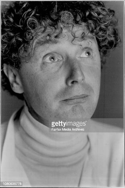Malcolm McLaren the brains behind the Sex Pistols Adam and the Ants and Bow Wow Wow in Sydney last week May 27 1986