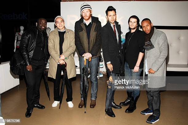 Malcolm Mensah Eugene Tong Jared Flint Steven Rojas Elliott David and Matthew Henson attend REEBOK Spring/Summer 2009 Preview Party at XCHANGE on...