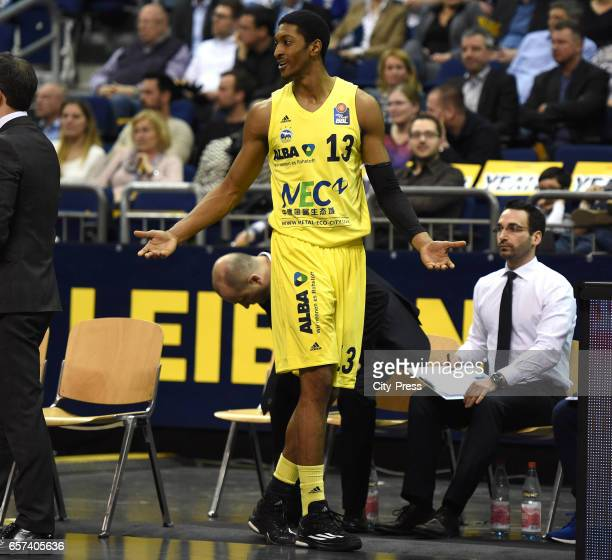 Malcolm Miller of Alba Berlin during the game between Alba Berlin and Medi Bayreuth on March 24 2017 in Berlin Germany