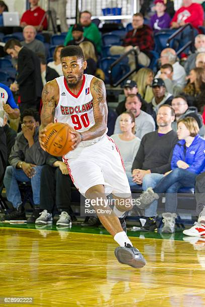 Malcolm Miller of the Maine Red Claws looks to pass against the Long Island Nets on December 10 2016 at the Portland Expo in Portland Maine NOTE TO...