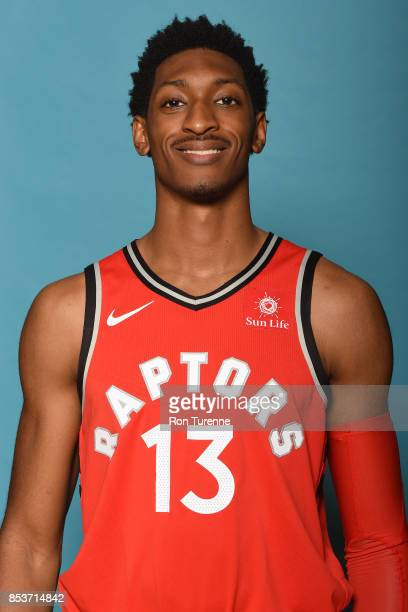 Malcolm Miller of the Toronto Raptors poses for a head shot during Media Day on September 25 2017 at the BioSteel Centre in Toronto Ontario Canada...