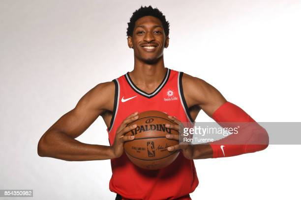 Malcolm Miller of the Toronto Raptors poses for a portrait during Media Day on September 25 2017 at the BioSteel Centre in Toronto Ontario Canada...