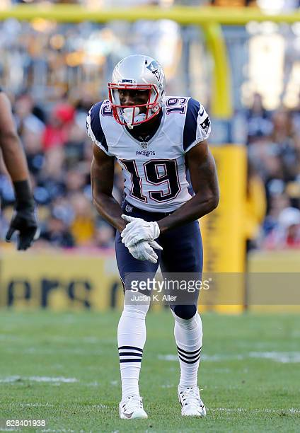 Malcolm Mitchell of the New England Patriots in action against the Pittsburgh Steelers at Heinz Field on October 23 2016 in Pittsburgh Pennsylvania