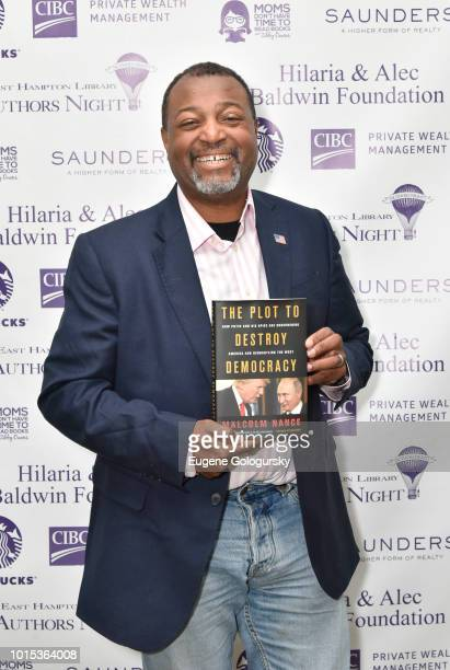 Malcolm Nance attends Authors Night At East Hampton Library on August 11, 2018 in East Hampton, New York.