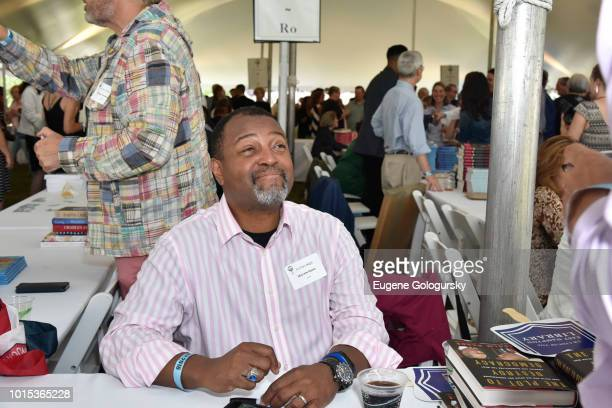 Malcolm Nance attends Authors Night At East Hampton Library on August 11 2018 in East Hampton New York