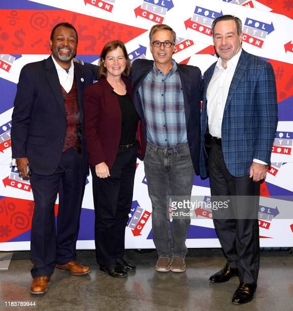 Malcolm Nance Barbara McQuade Harry Litman and David Frum attend day 2 of Politicon 2019 at Music City Center on October 27 2019 in Nashville...