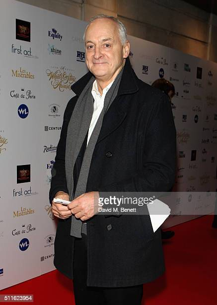 Malcolm Sinclair attends the 16th Annual WhatsOnStage Awards at The Prince of Wales Theatre on February 21 2016 in London England