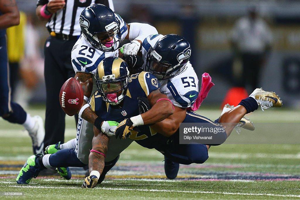 Seattle Seahawks v St. Louis Rams : News Photo