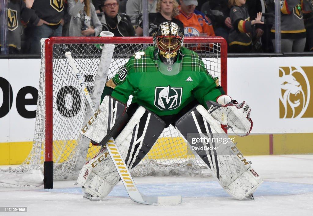 NV: Edmonton Oilers v Vegas Golden Knights