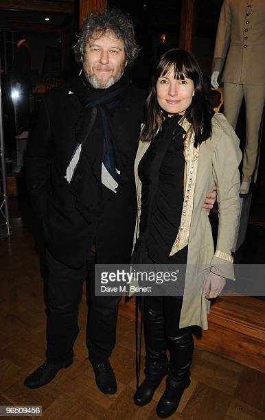 Malcolm Venville and Daisy Bates attend the London Evening Standard British Film Awards 2010 at The London Film Museum on February 8 2010 in London...