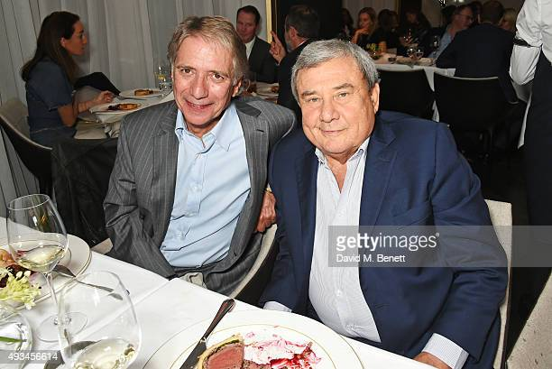Malcolm Walker and Sol Kerzner attend the opening dinner for 12 Hay Hill hosted by 12 Hay Hill CEO Simon Robinson Heather Kerzner and Jeanette...