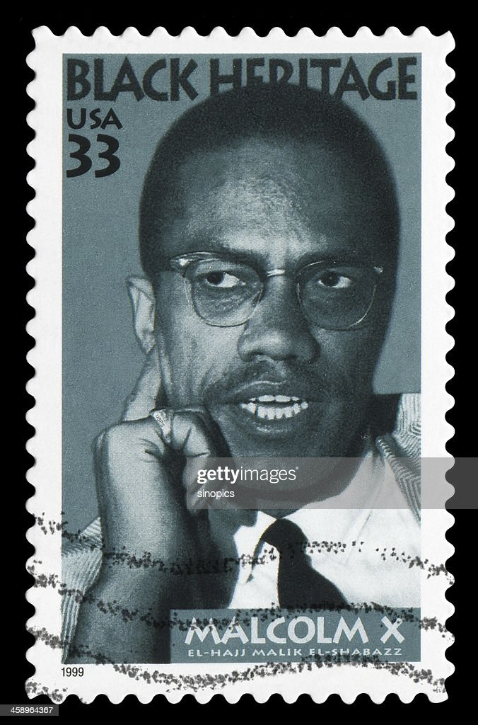 Malcolm X : Foto de stock
