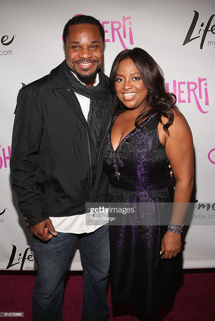 Malcolm-Jamal Warner and Sherri Shepherd attend the Launch Party for new sitcom 'Sherri' at the Empire Hotel on October 5, 2009 in New York City.