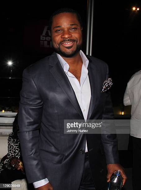MalcolmJamal Warner attends the Reed Between The Lines VIP screening at Bar Basque on October 10 2011 in New York City