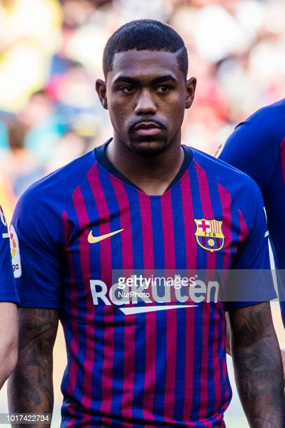 Malcom Filipe from Brasil during the Joan Gamper trophy game between FC Barcelona and CA Boca Juniors in Camp Nou Stadium at Barcelona on 15 of...