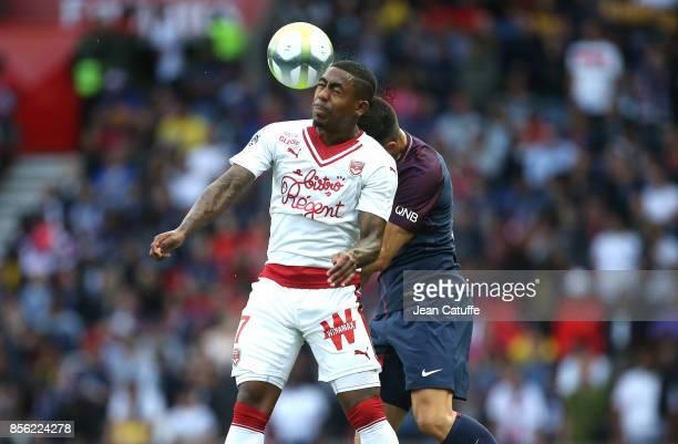 Malcom Filipe Silva de Oliveira of Girondins de Bordeaux during the French Ligue 1 match between Paris SaintGermain and FC Girondins de Bordeaux at...