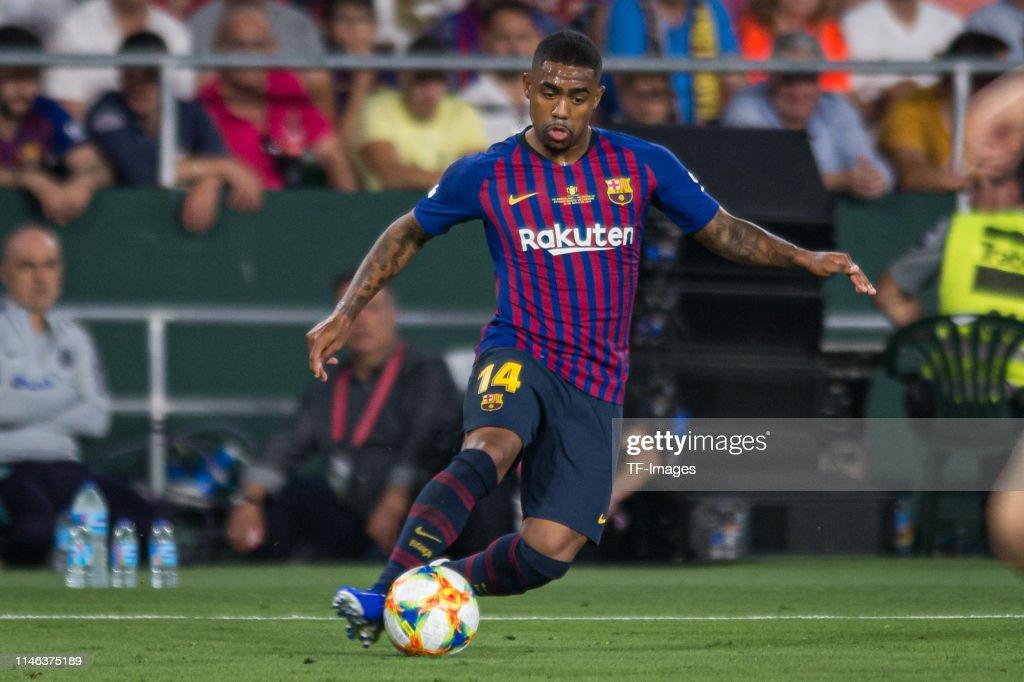 Barcelona v Valencia - Spanish Copa del Rey Final : News Photo