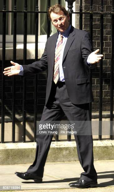 Malcom Wicks pleads innocent when asked about his new ministerial posting as he leaves Downing Street It was later revealed that Mr Wicks was...