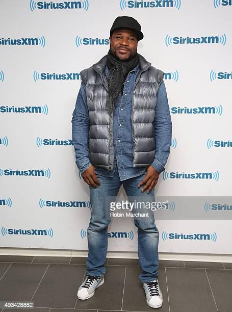 Malcom-Jamal Warner visits at SiriusXM Studios on October 20, 2015 in New York City.