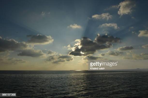 maldievies sunset - salah stock photos and pictures