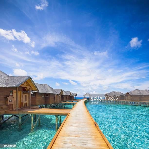 Malediven Boardwalk