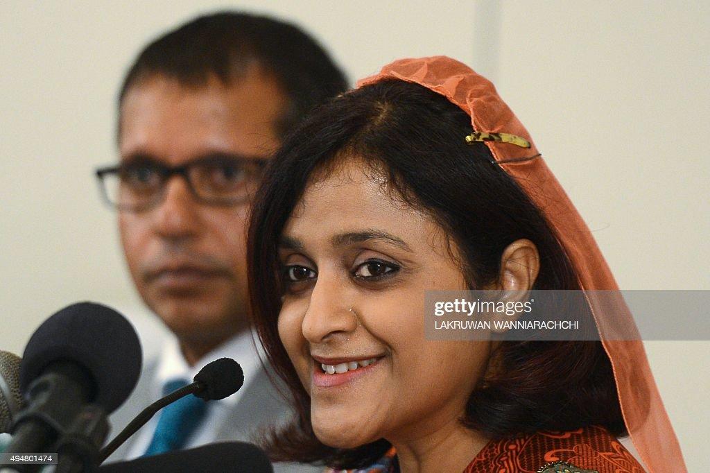 MALDIVES-POLITICS-UNREST : News Photo